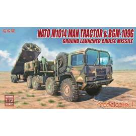 Modelcollect 1:72 NATO M1014 MAN Tractor and BGM 109G GLCM
