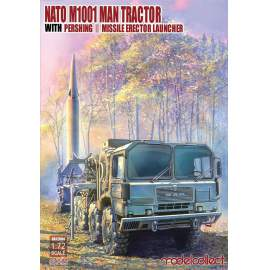 Modelcollect 1:72 NATO M1001 MAN Tractor with Pershing II MEL