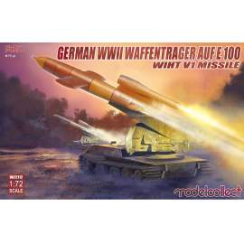 Modelcollect 1:72 German WWII Waffentrager auf E100 with V1 missile