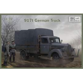 IBG Model 1:72 917t German Truck harcjármű makett