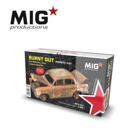 MIG Productions 1:35 Burn Out Modern Car