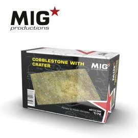 MIG Productions 1:72 Cobblestone With Crater