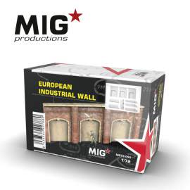 MIG Productions 1:72 European industrial wall
