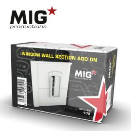 MIG Productions 1:72 Window Wall Section Add On