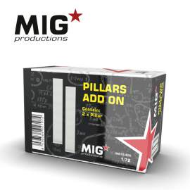 MIG Productions 1:72 Pillars add on