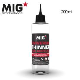 Mig Productions Universal Thinner For Acrylics
