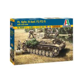 Italeri 1:35 Pz.Kpfw. IV Ausf.F1/F2/G Early With Rest Crew