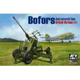 AFV-Club 1:35 British Vers.of Bofors 40mm MKIII AA Gun harcjármű makett