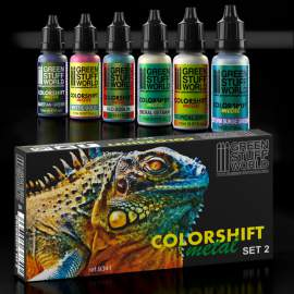 Green Stuff World Chameleon Acrylic Paint Set 2