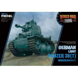 Meng Model German Light Panzer 38(T) (Cartoon Model)
