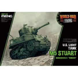 Meng Model U.S. Light Tank M5 Stuart (Cartoon Model)