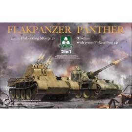 "Takom 1:35 Flakpanzer Panther ""Coelian"" with 37mm Flakzwilling 341"