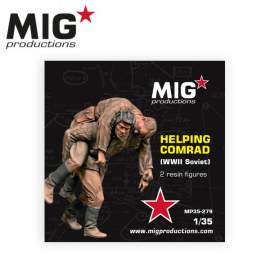 MIG Productions 1:35 Helping Comrad (WWII soviet)