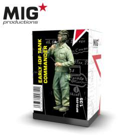MIG Productions 1:35 Early IDF Tank commander