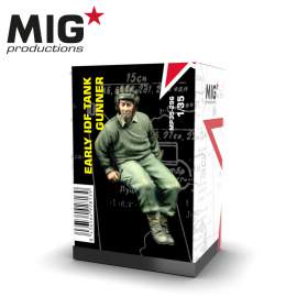 MIG Productions 1:35 Early IDF Tank gunner