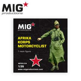 MIG Productions 1:35 Africa Corps motorcyclist