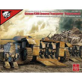 Modelcollect 1:72 Fist of War Series German P300/2 Panzer - KampfWagen