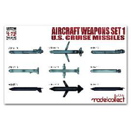 Modelcollect 1:72 Aircraft weapons set 1 U.S.cruiser missile