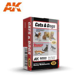 AK-Interactive (Doozy) 1:24 Cats & dogs