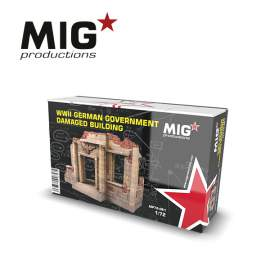 MIG Productions 1:72 German damaged building