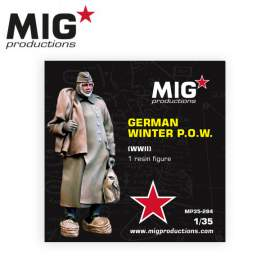 MIG Productions 1:35 German winter P.O.W WWII