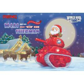 Meng Model M4A1 Sherman Christmas Edition (Cartoon Model)