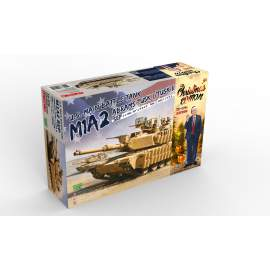 Meng Model 1:35 U.S. Main Battle Tank M1A2 SEP Limited Christmas Edition