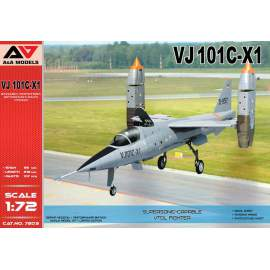 A & A Models 1:72 VJ-101C-X1 Supersonic-capable VTOL fighter