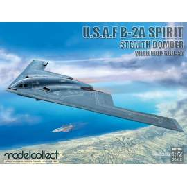 Modelcollect 1:72 USAF B-2A Spirit Stealth Bomber with Mop GBU-57