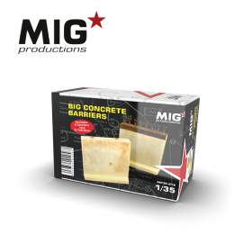 MIG Productions 1:35 Big concrete barriers