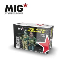 MIG Productions 1:35 Street fighting palestians set