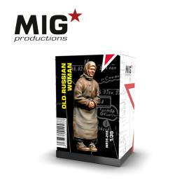 MIG Productions 1:35 Old russian woman