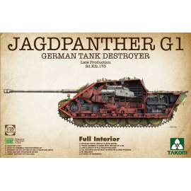 Takom 1:35 Jagdpanther G1 Late - full Interior harcjármű makett