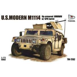 T-Model 1:72 M1114 Up-armored HMMWV w/ GPK Turret