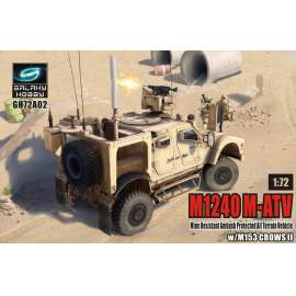 Galaxy Hobby 1:72 M1240 M-ATV w/ M153 CROWS II