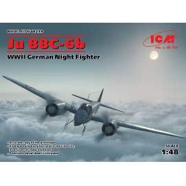 ICM 1:48 Ju 88С-6b, WWII German Night Fighter