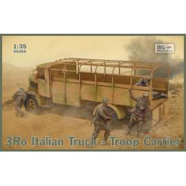 IBG 1:35 3Ro Italian Truck Troop Carrier harcjármű makett