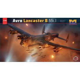 HK Model 1:32 Lancaster MkI. and Mk III.- limited Edition repülő makett