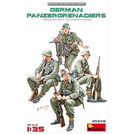 Miniart 1:35 German Panzergrenadiers figura makett