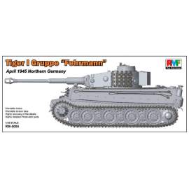 "Ryefield model 1:35 Pz.Kpfw.VI Tiger I Gruppe ""Fehrmann"" April 1945"