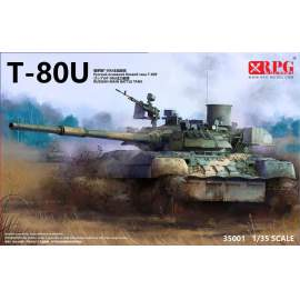 RPG Model 1:35 Russian Main Battle Tank T-80U