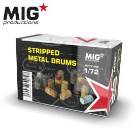 MIG Productions 1:72 Stripped metal drums