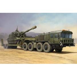 Trumpeter 1:35 Russian KZKT-7428 Transporter with KZKT- -9101 Semi Trailer