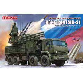 Meng Model 1:35 Russian Air Defense Weapon System 96K6 Pantsir-S1