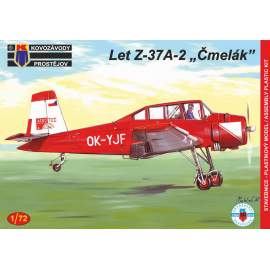 "KP Model 1:72 Let Z-37A-2 Cmelak ""Two-seater"" (Czech service)"