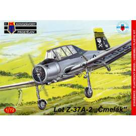 "KP Model 1:72 Let Z-37A-2 Cmelak ""Two-seater"" (Slovakia and UK)"