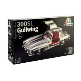 Italeri 1:16 Mercedes-Benz 300 SL Gullwing autó makett