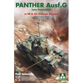 Takom 1:35 Panther G Late Production with IR & Antiair Armour