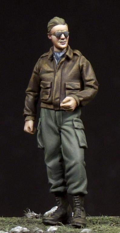 Corpus 1:48 Amerikai pilóta 1# C-48001 figura makett