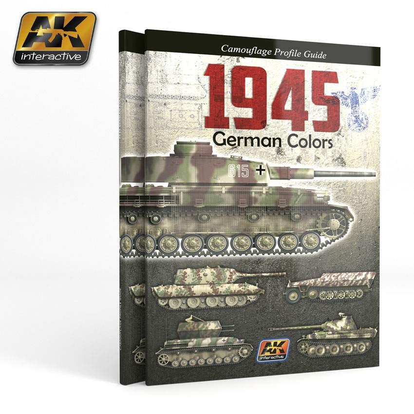 Image of 1945 German colors. Camouflage Profil Guide (Német harcjármű festések)